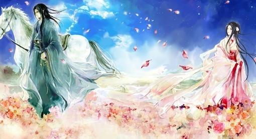 卓文君(卓文后)名言被美丽图片收藏到爱情