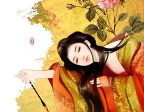 陆放翁(陆游)名言被那一抹笑°穿透了阳光收藏到精美画作