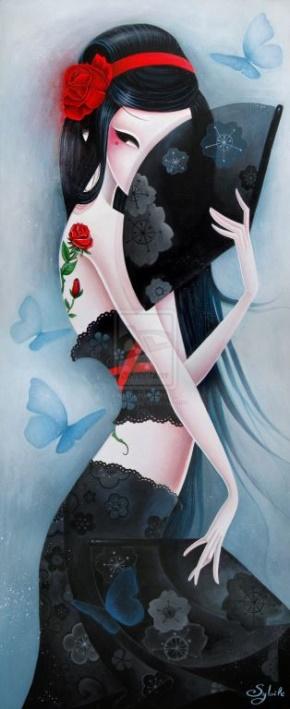 白饭如霜(刘柳)名言被花子收藏到现代诗