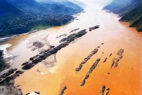 余秋雨名言被中华故事会收藏到壮美三峡