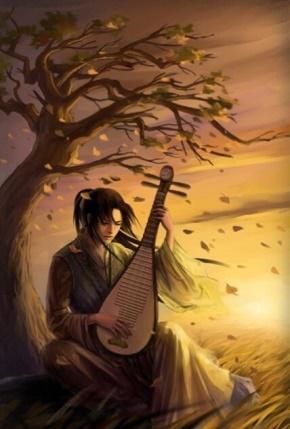 周杰伦当代《东风破》 谁在用琵琶弹奏一曲东风破 枫叶将故事染色